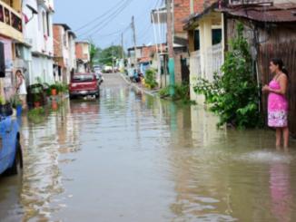 Foto Archivo de inundaciones en Chone