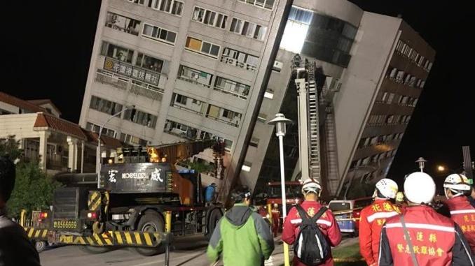 Terremoto de 6.2 en Taiwán deja muertos y más de 200 heridos (Galería) -  Diario Digital Manabí Noticias